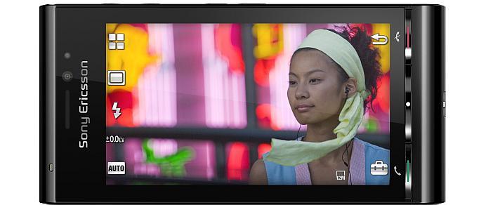 Sony Ericsson Satio mobile phone black