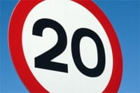 The new report calls for more 20mph zones