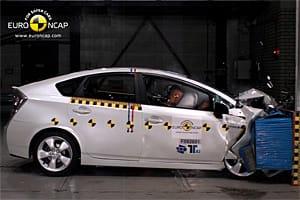 Euro NCAP: new Toyota Prius