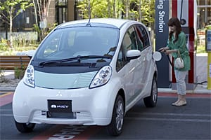 Electric cars: Mitsubishi iMiEV