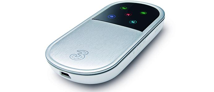 Three MiFi wireless broadband Wi-Fi modem