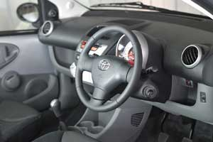 Toyota reveals 'luxurious' Aygo Platinum interior