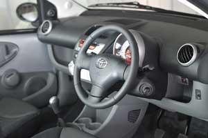 Toyota reveals 'luxurious' Aygo Platinum interior