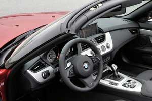 BMW Z4 sDrive35is cabin