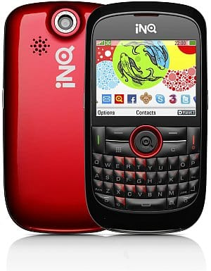 INQ Chat 3G mobile phone - red