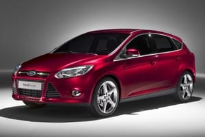 Ford Focus 2011 front