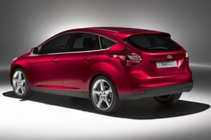 New Ford Focus 2011 rear