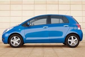 New Toyota Yaris 2010 profile