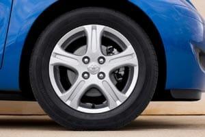 New Toyota Yaris 2010 wheel