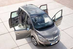 New Vauxhall Meriva doors