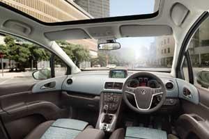 New Vauxhall Meriva MPV interior