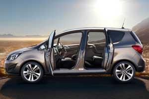 New Vauxhall Meriva MPV interior 2