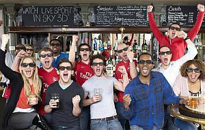 Sky broadcasts live Premier League football