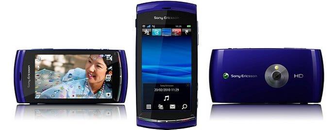 Sony Ericsson Vivaz - HD video mobile phone - blue