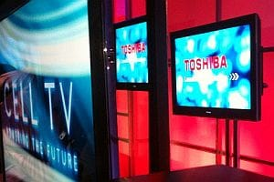 Toshiba Cell TV - CES 2010