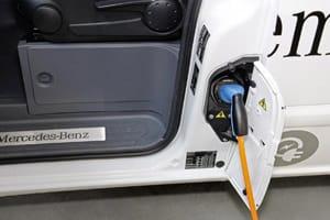 electric Mercedes Vito van 2