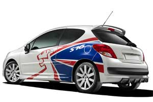 Peugeot 207 S16 rally special