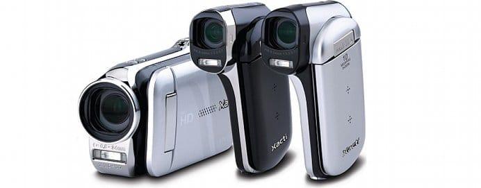 Sanyo Xacti dual camera camcorders - VPC-GH2, VPC-CG102 and VPC-CG20