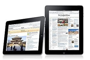 Apple iPad iBook reader