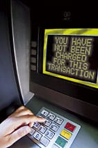 Cash machine: you have not been charged for this transaction