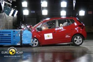 Kia Venga crash test