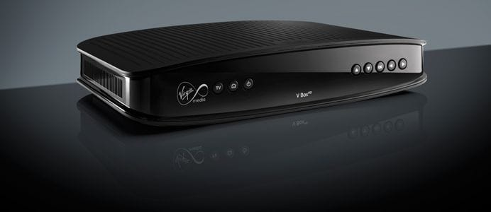 Virgin HD V Box cable TV set-top box