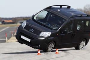 Citroën Nemo Multispace rollover