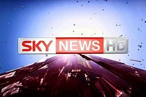 Sky News HD channel screenshot