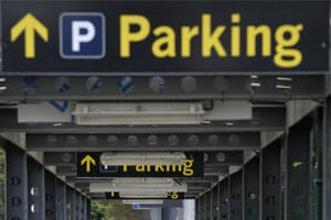aiport parking - 2
