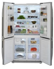 Beko four-door fridge freezer