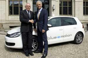 electric VW Golf