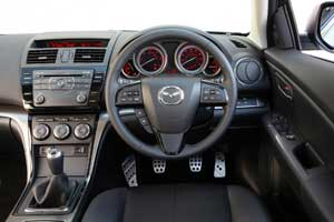 Mazda 6 2010 interior