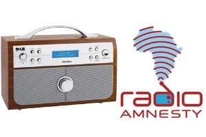 Radio Amnesty logo - DAB trade-in scrappage scheme