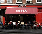 Costa coffee shop front