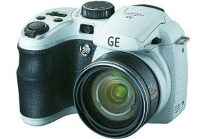 GE cameras X5 superzoom - white