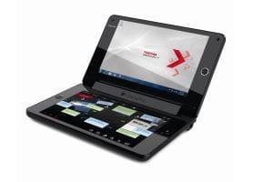 Toshiba W100 dual touchscreen