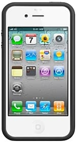 Apple iPhone 4 with bumper