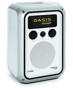 Pure Oasis Flow DAB radio - white