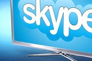 Skype HD on Samsung TV