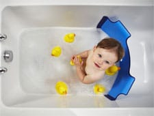BabyDam baby bathtime barrier