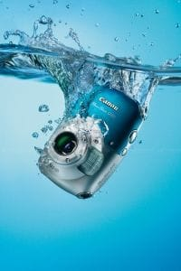 Canon waterproof camera