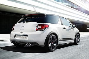 DS3 Racing goes from 0-62mph in 6.5 seconds
