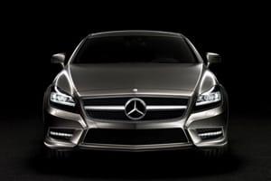 Mercedes CLS: Front end looks familiar