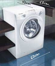 Hoover space-saving washing machine