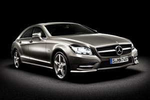 New Mercedes CLS: The sides resemble the new E-Class