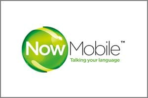 NowMobile PAYG mobile phone provider logo