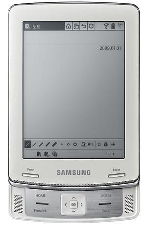 Samsung E60 Slide ebook reader