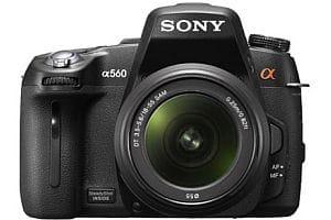 Sony alpha a560 digital camera
