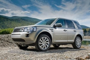 The Freelander has been given a slight facelift