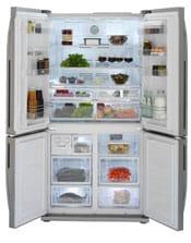 Beko four-door fridge freezer